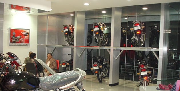 Bay Auto Parts >> Automotive Showrooms & Service Centers | Anil Chugh & Associates | Architects & Interior ...
